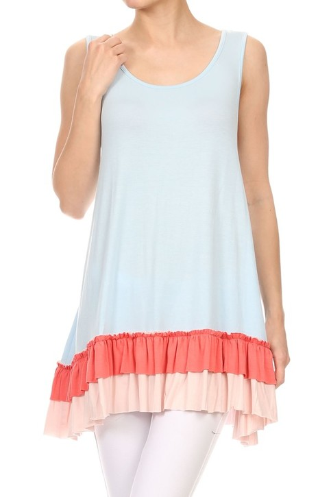 Polly Ruffle Tunic