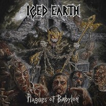 "Iced Earth - Plagues Of Babylon (10"" Gold vinyl box set)"