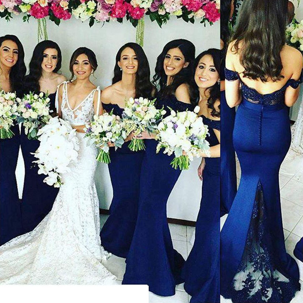 Off the shoulder lace bridesmaid dress with low back sexy mermaid off the shoulder lace bridesmaid dress with low back sexy mermaid bridesmaid dress long ombrellifo Choice Image