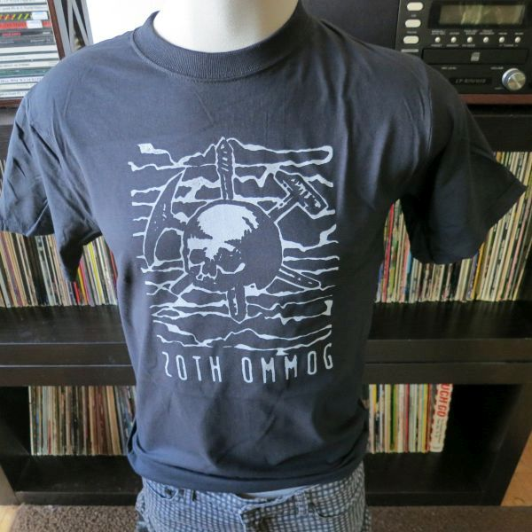 Zoth ommog records tee t shirt screen print short sleeve for Vintage screen print t shirts