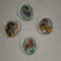 Magnet Set - Framed Princesses