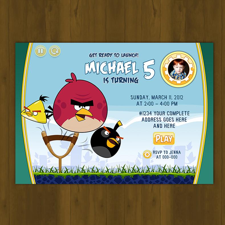 Angry birds birthday invitation card diy splashbox printables angry birds birthday invitation card diy thumbnail 2 stopboris Images