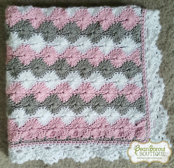 Starburst Baby Blanket Bean Sprout Boutique Online Store Powered
