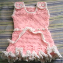 Sweet Baby Ruffled Dress