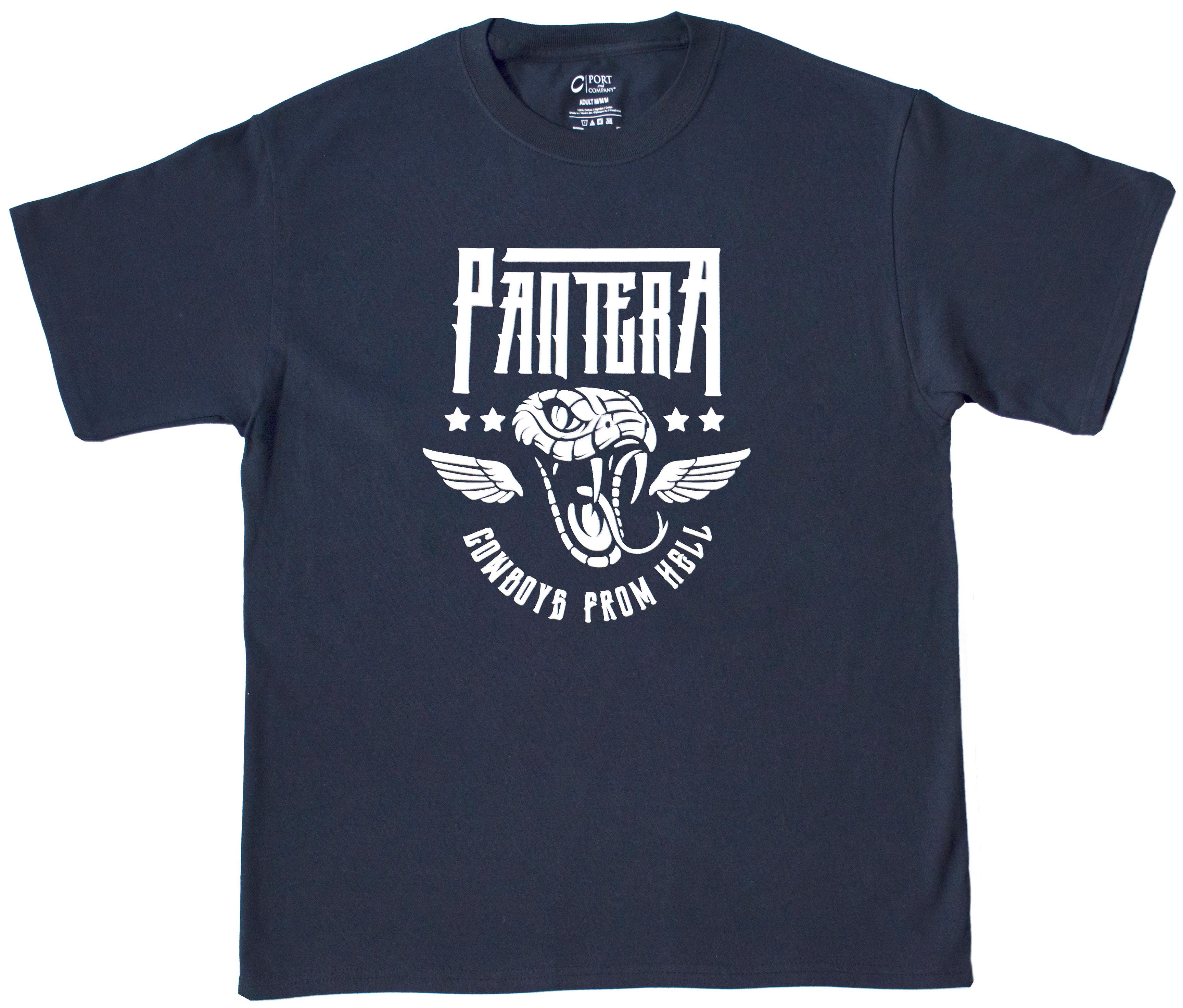 Pantera snake t shirt top notch custom apparel online for Best online custom shirts