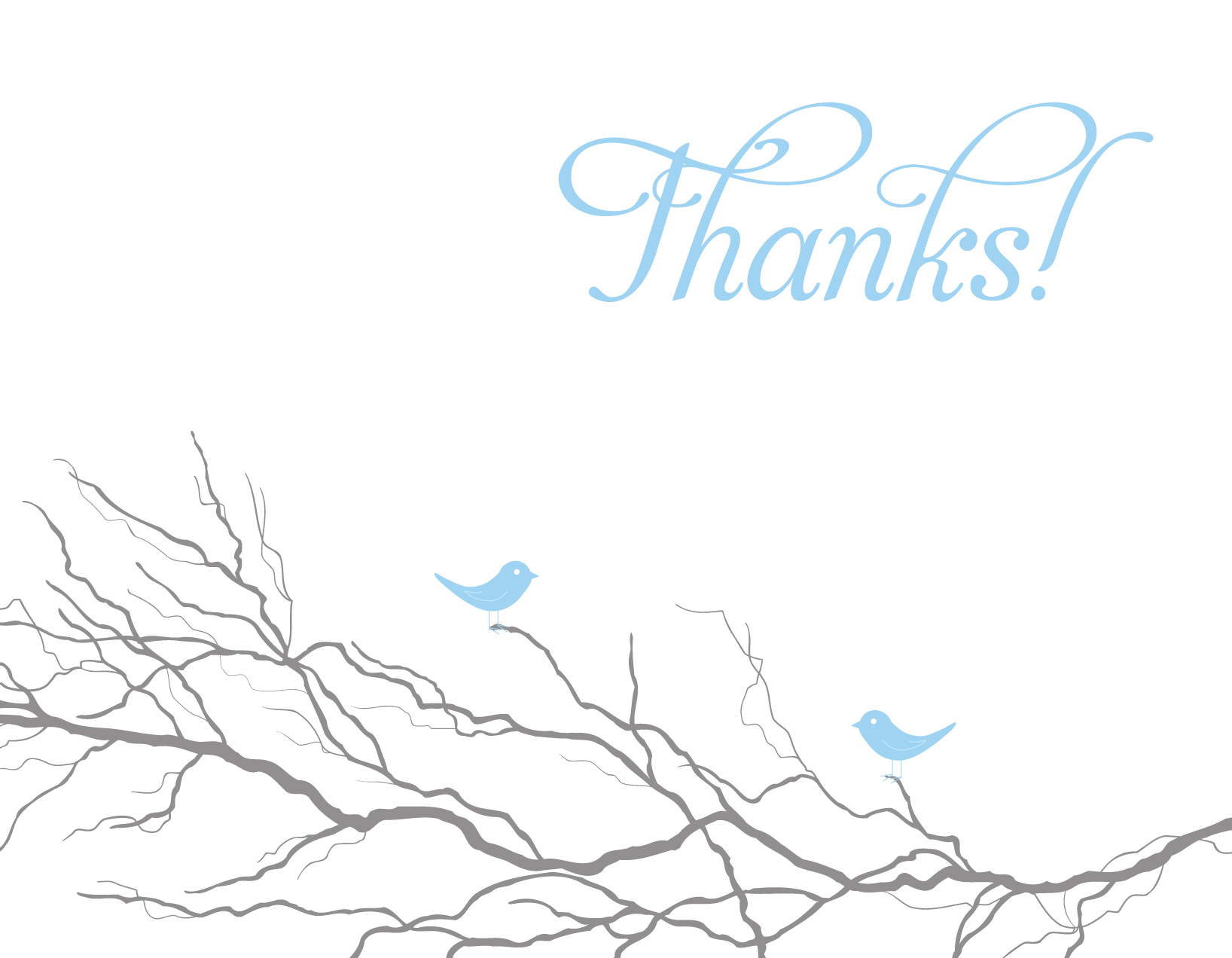 blue thank you set · 625paper · Online Store Powered by ...
