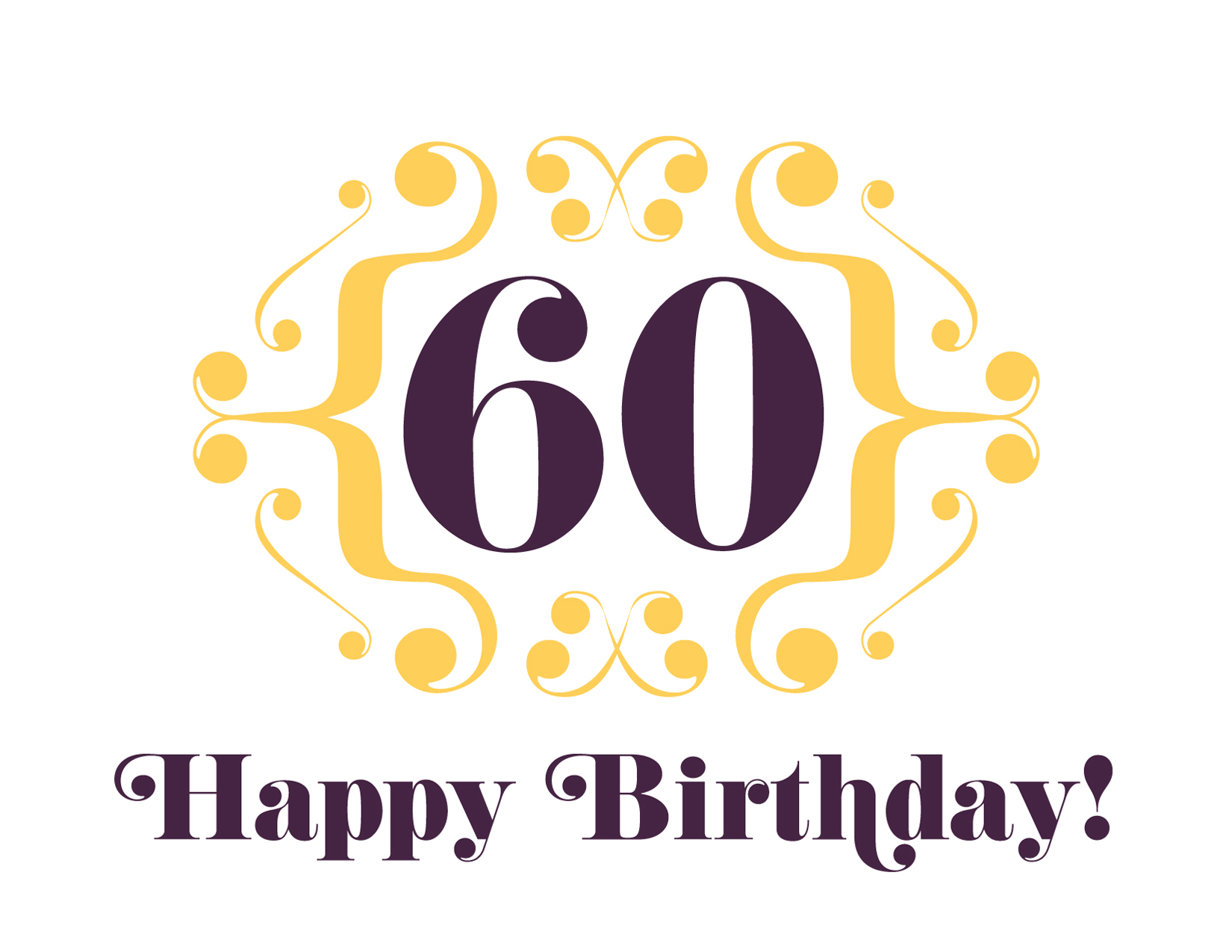 Happy 60th 183 625paper 183 Online Store Powered By Storenvy