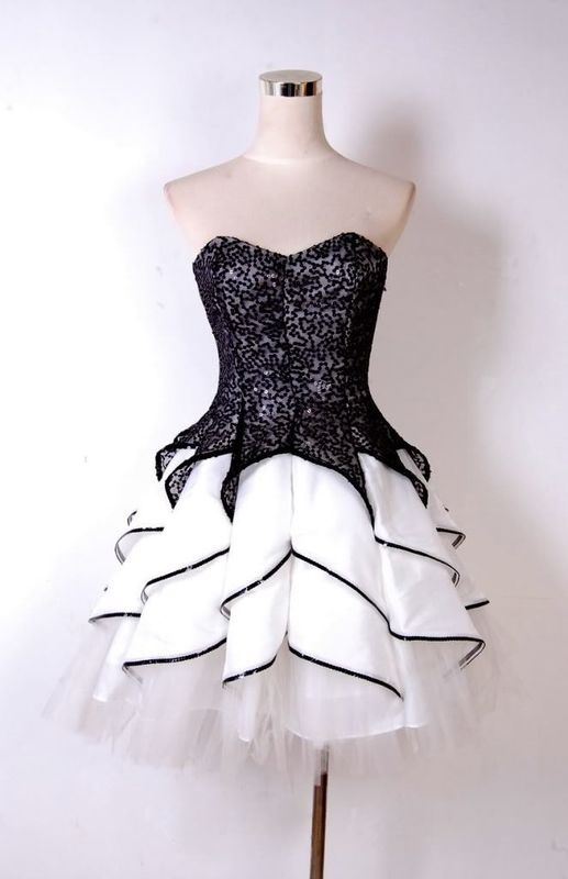 Solo Dress Black Homecoming Dresses,Lace Homecoming Dress,Cute ...