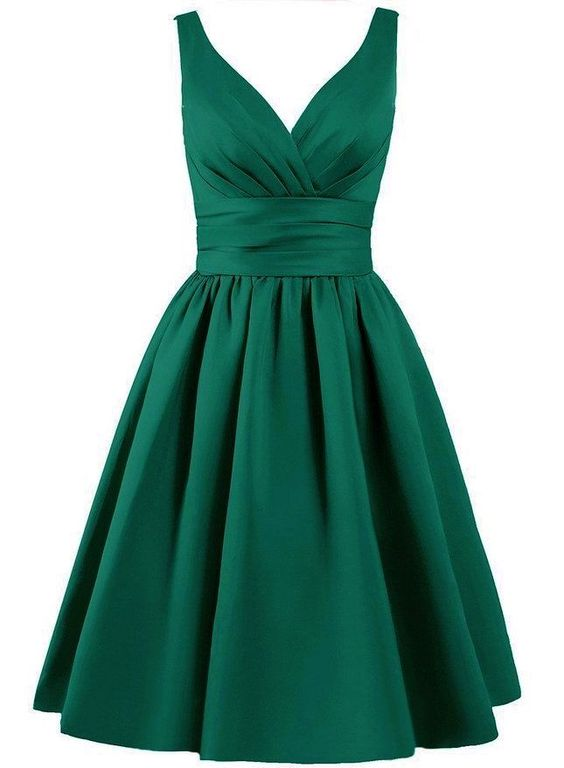 green prom dress,simple Prom gowns short Homecoming Dresses ...