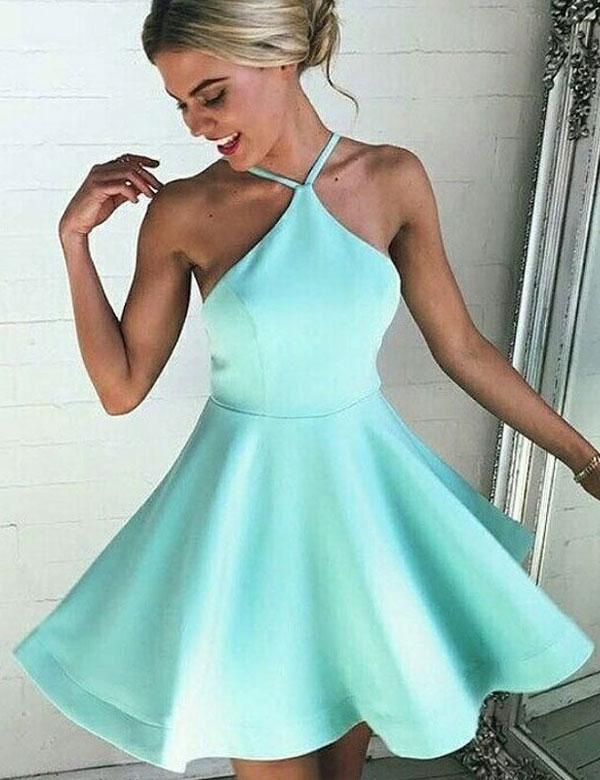 Short Homecoming Dress,Spaghetti Straps Homecoming Dress,Cheap ...