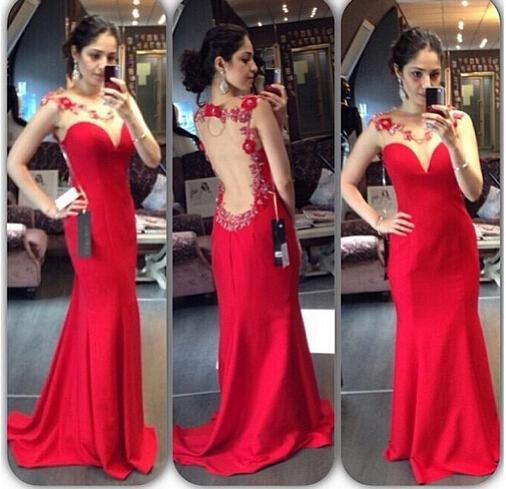 Red Prom Dresses 2016
