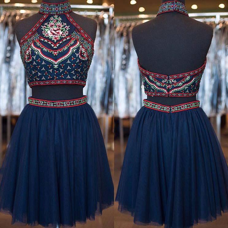 2 Piece Homecoming Dresses 91009fe05