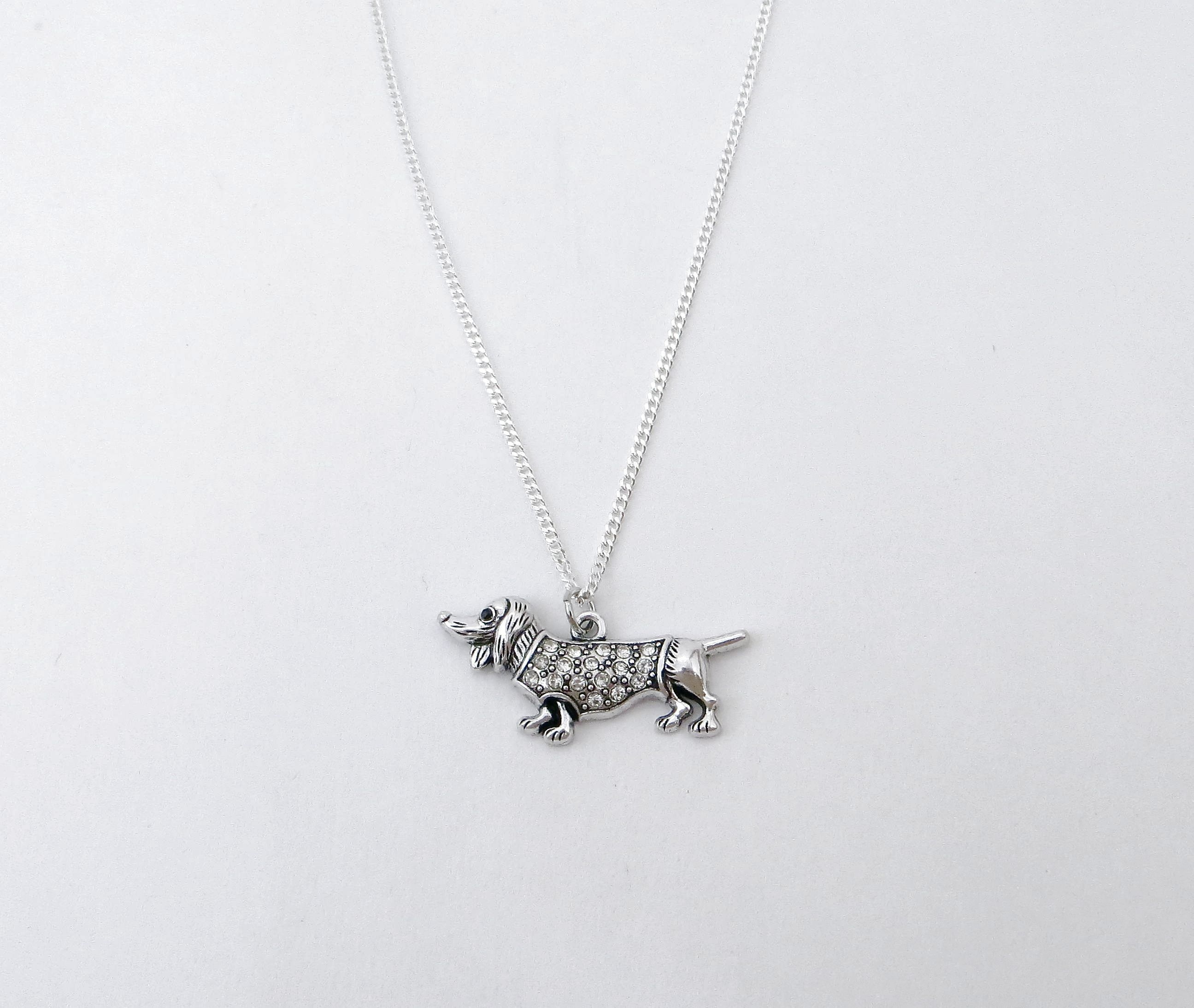 product cat in com necklace iheartdogs silver dog img