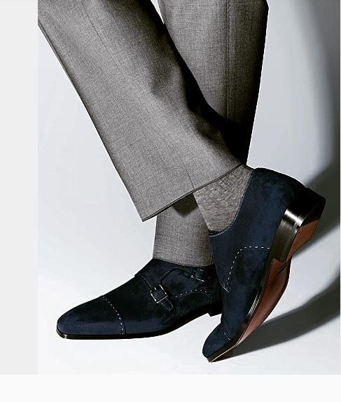 69edd3d620c4 Handmade men monk strap shoes