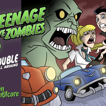 Teenage Love Zombies Book 1