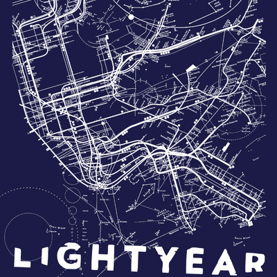 Limited edition lightyear poster