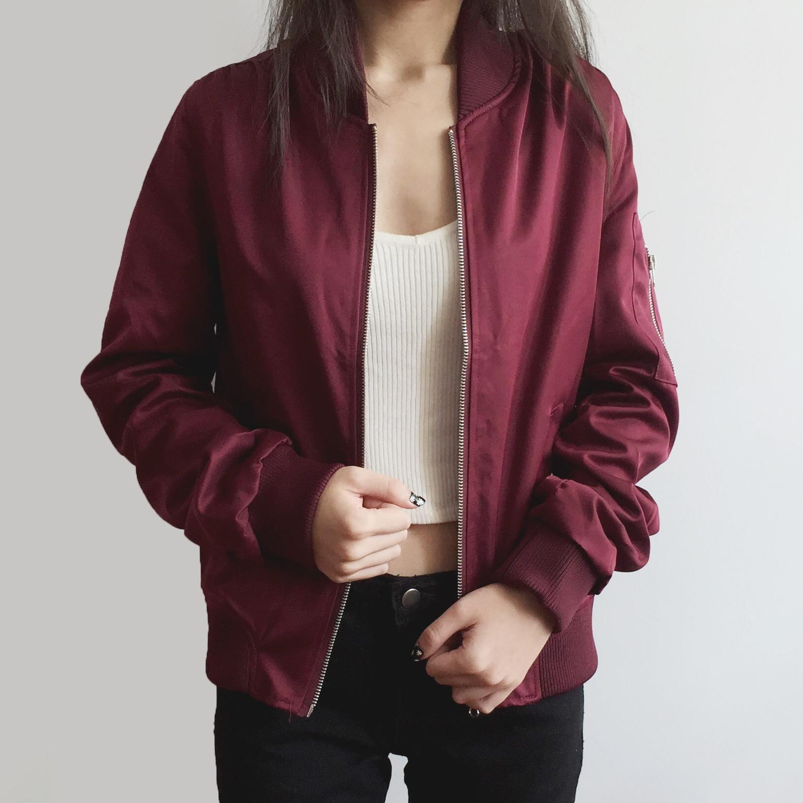 Everyday Bomber Jacket (4 Colors) · Megoosta Fashion · Free ...