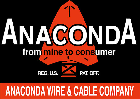 Anaconda Wire and Cable Company T Shirt on Storenvy