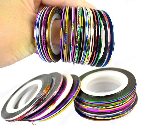 30pcs mixed colors rolls striping tape line nail art tips 30pcs mixed colors rolls striping tape line nail art tips decoration sticker18767 thumbnail prinsesfo Choice Image