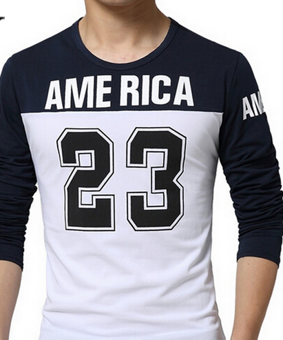 8eab31a1816486 America 23 Long sleeve Shrit · FaceGram · Online Store Powered by ...