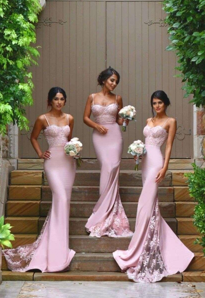 2017 Bridesmaid Dress Mermaid Prom Dress Celebrity Dress evening ...