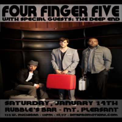 Four finger five wsg. the deep end 1/14 (21+)