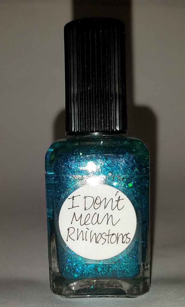 Lynnderella - Nail Polish in I Don\'t Mean Rhinestones (Multi-Glitter ...