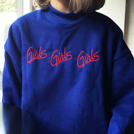 Girls Girls Girls Sweatshirt · moozoo · Online Store Powered by ...