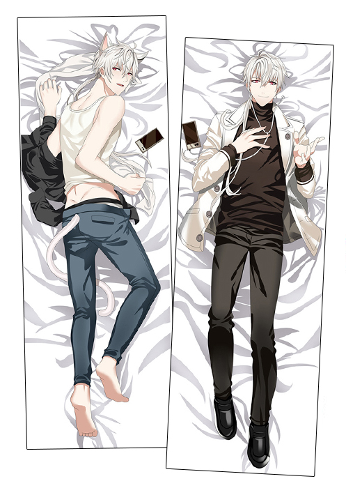Body Pillow Video On Facebook New Mystic Messenger Male