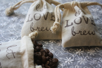 Favor Bags - Coffee or Tea Favors