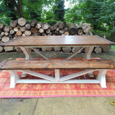 Dining table  farmhouse  reclaimed wood  custom  handcrafted  handmade  made  inHome   Wonderland Woodworks   Online Store Powered by Storenvy. Farmhouse Dining Table Made In Usa. Home Design Ideas