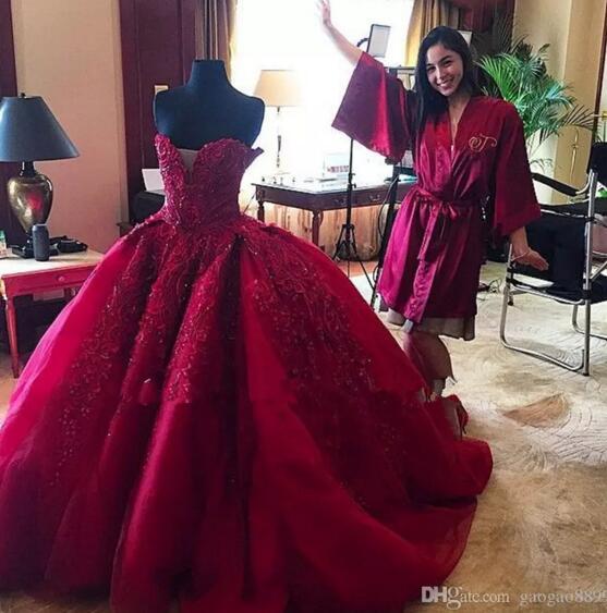 P234 Charming Lady Wedding Bridla gowns,Emboridery Wedding Dresses ...
