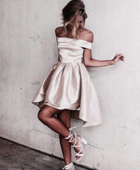 Cute A-line high low prom dress,formal dresses · Dream Prom · Online ...