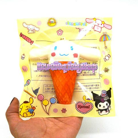 Rare Cinnamoroll Squishy Website : Jumbo Cinnamoroll Ice Cream Cone Squishy Charm ? Kawaii Squishy Shop ? Online Store Powered by ...