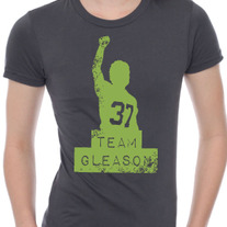 Team Gleason Ladies T-shirts