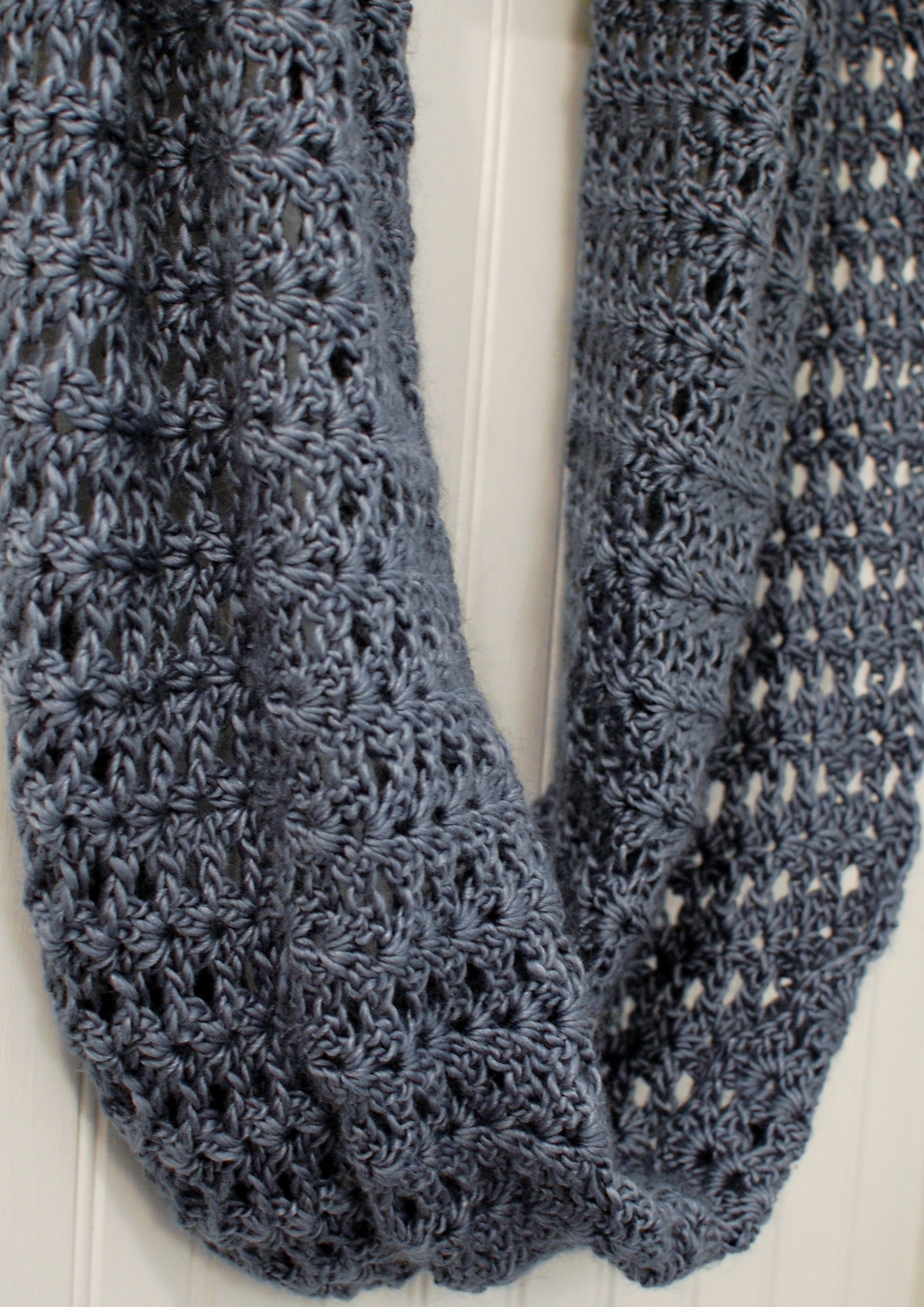 Crochet Pattern - Mobius Infinity Scarf / Wrap (includes instructions ...