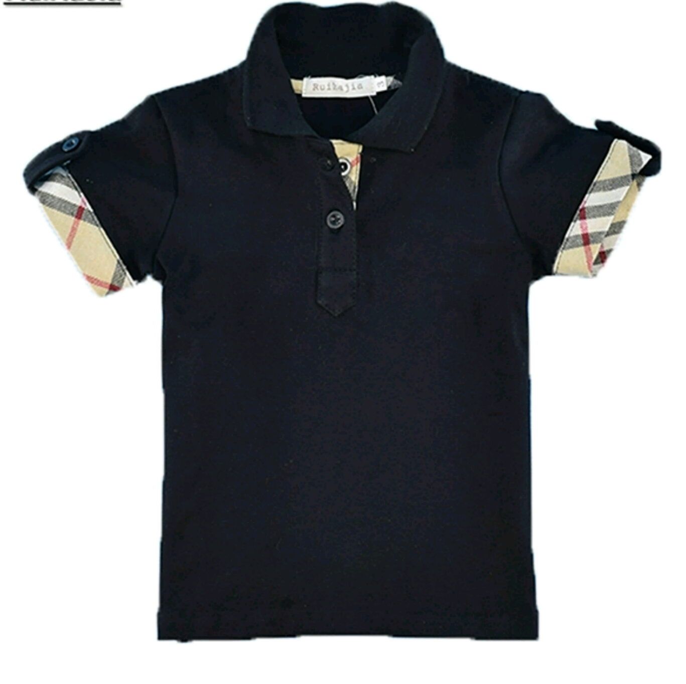 Boys Polo Shirts Red White Black Tiny Trends N More