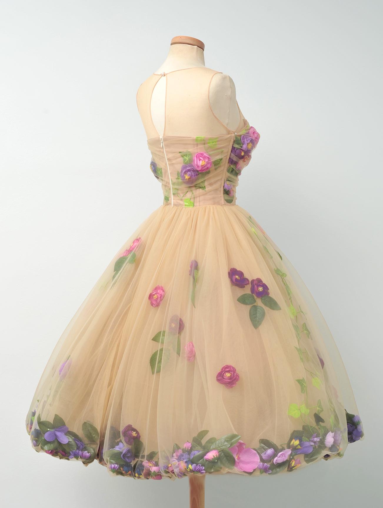 Purple Flowers Dresses