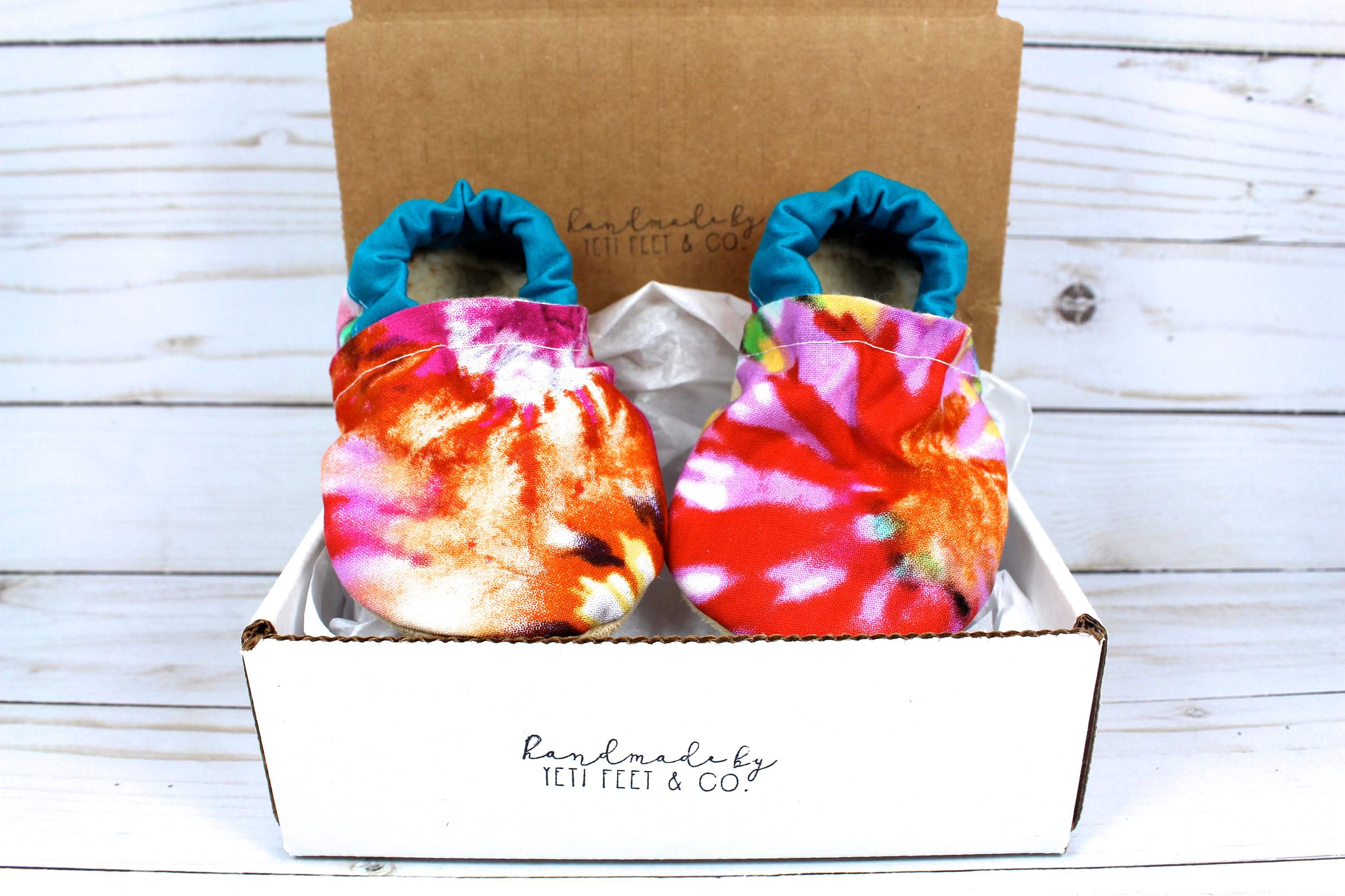 Baby moccs Tie Dye baby shoes vegan baby moccs crib shoes baby