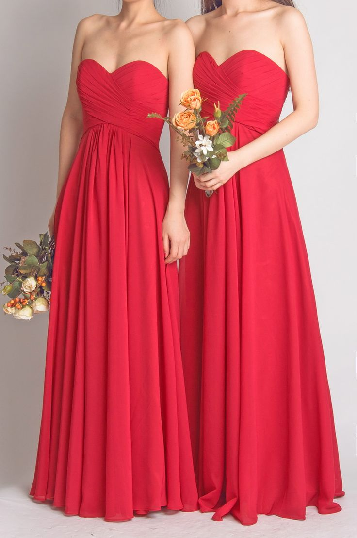 Floor length red empire bridesmaid dress sanct sophia online floor length red empire bridesmaid dress thumbnail 4 ombrellifo Choice Image