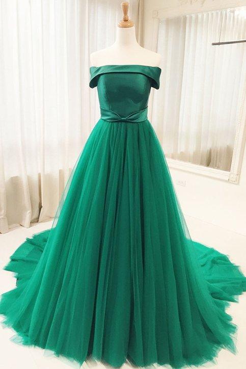 Charming Evening Dress,Tulle Formal Evening Dresses,Long ...