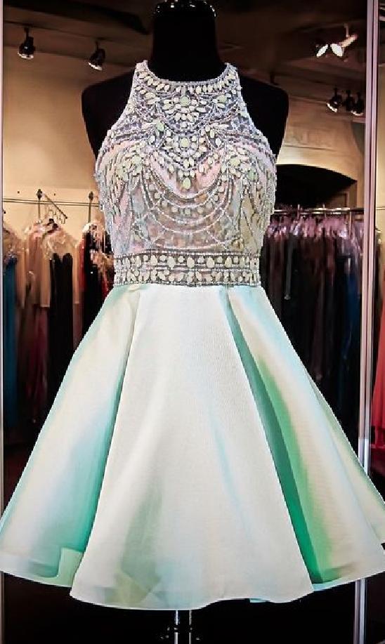 1133eb6269f Mint Green Homecoming Dresses