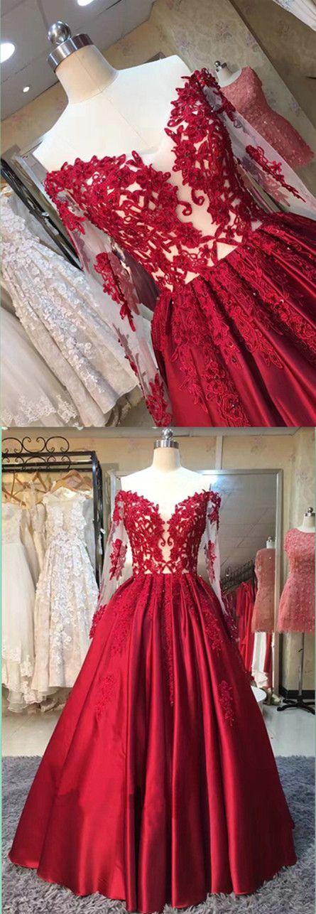 lace ball gown prom dresses,evening dresses,graduation party dresses ...