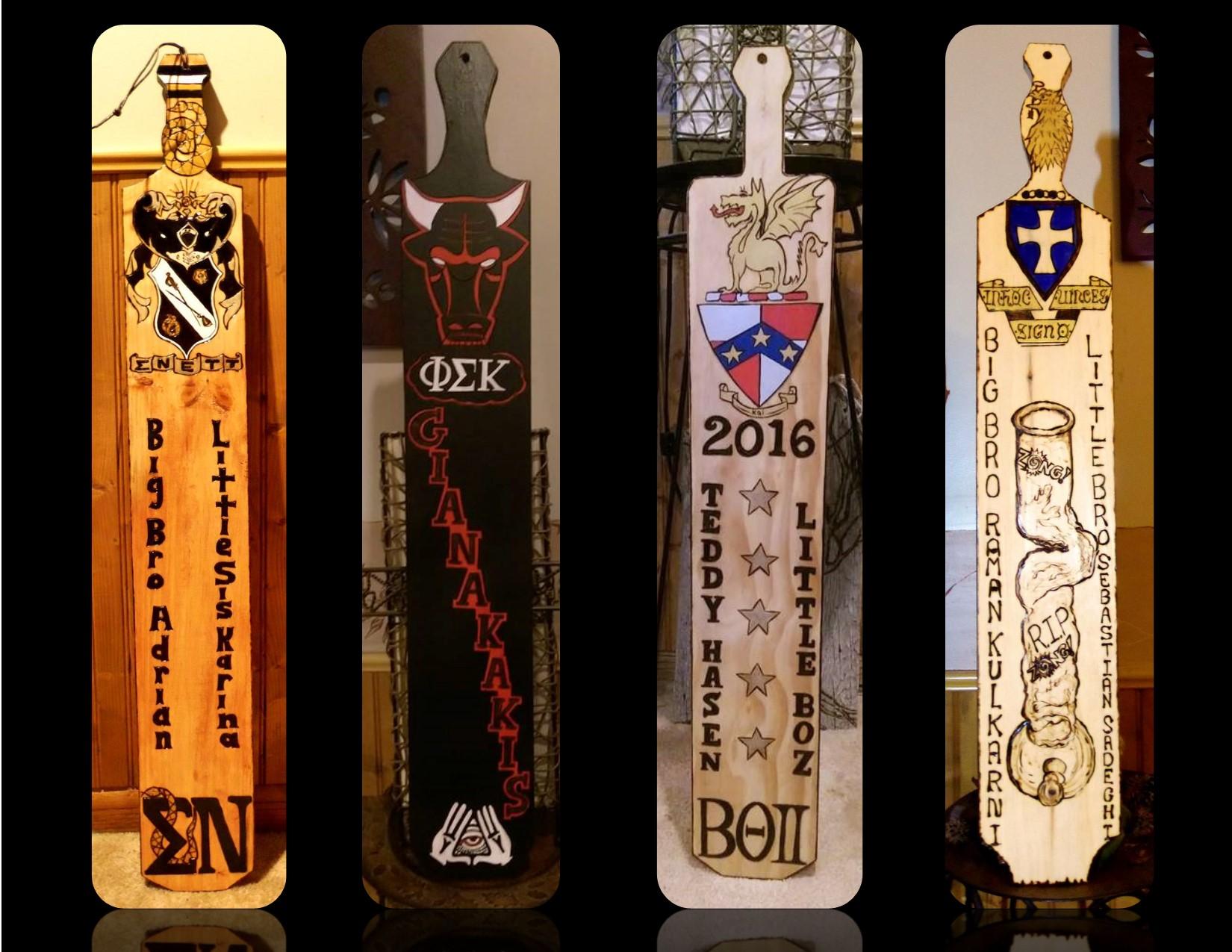Cool,Custom Fraternity paddles,Fraternity paddles, Sorority paddles ...