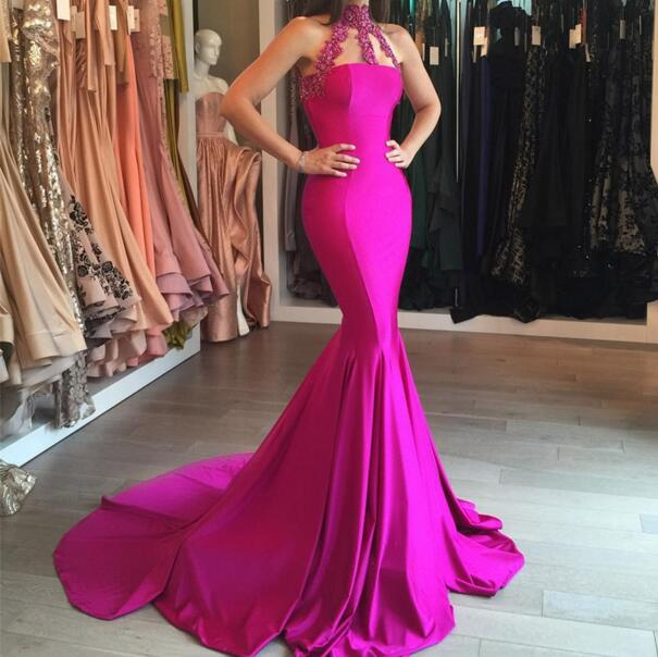modest off shoulder long lace formal prom dresses with sleeves,pink ...
