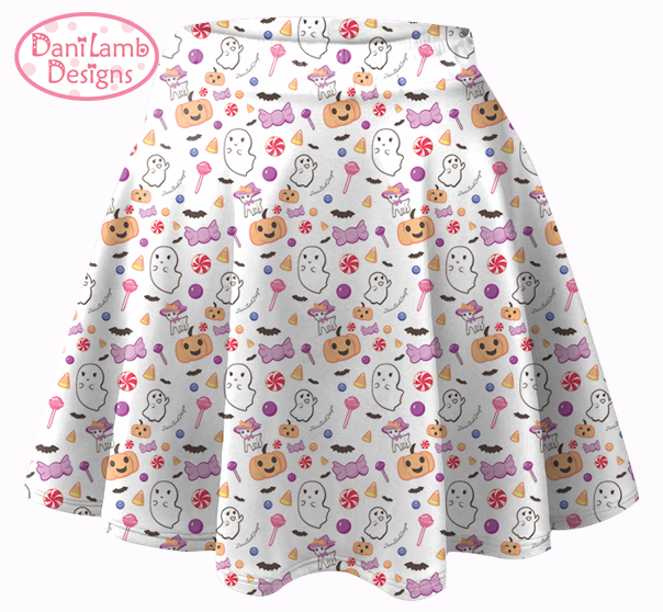 Kawaii Halloween Candy skirt Creepy Cute Fairy kei Pastel ...