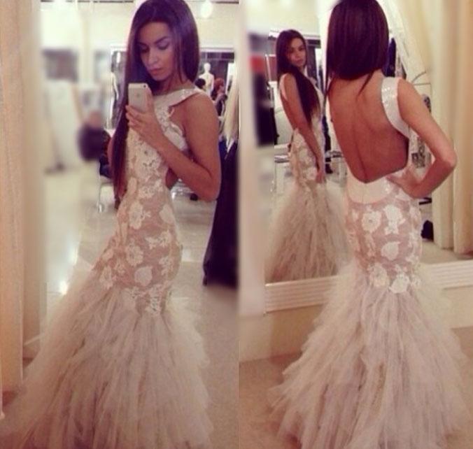 E142 Mermaid Prom Dresses , Mermaid Prom Dress, Lace Mermaid Prom ...