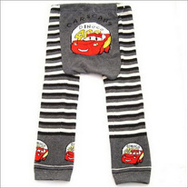 CARS Lightening McQueen theme legging pants for boys and girls infant 3 mos to toddler 4T