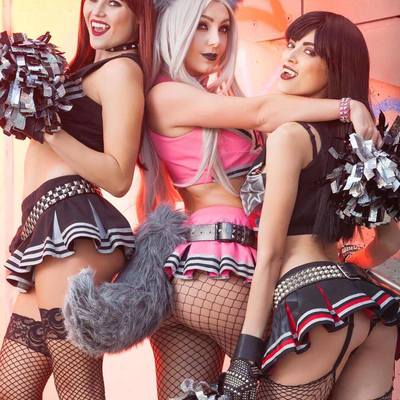 Evil cheerleaders (11x17 signed print) proceeds go to charity