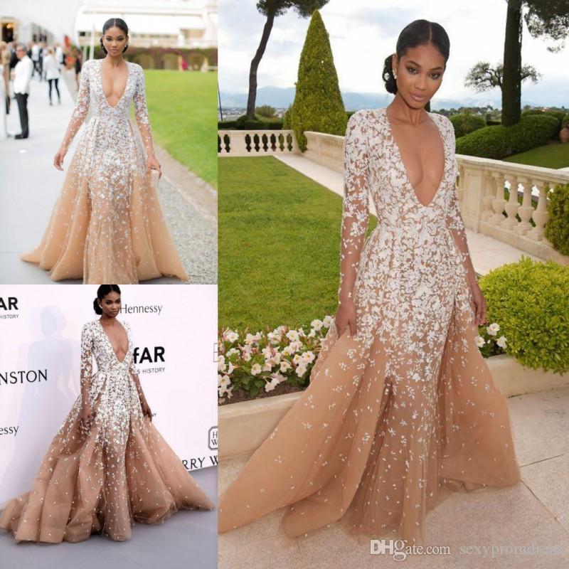 Modest Applique Prom Dress,Long Sleeve Prom Dress,Custom Made ...